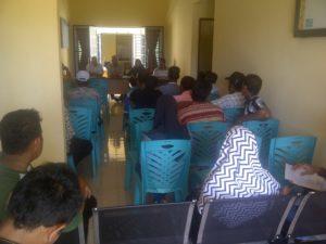 Rapat Pemilihan Ketua Bumdes Desa Kelong