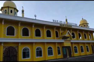 Mesjid AL - Mauizhoh Kampung Beringin Indah , Salah Satu Mesjid Yang Rutin Mensiarkan Maklumat Kapolri